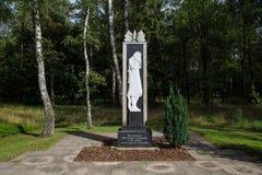 Sovjetisk krigkyrkogårdminnesmärke Royaltyfri Foto