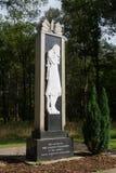 Sovjetisk krigkyrkogårdminnesmärke Arkivbilder