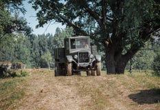 Sovjetisk lastbil GAZ Royaltyfri Fotografi
