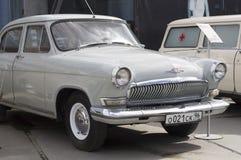 Sovjetisk retro bil GAZ Arkivbilder