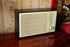 Sovjetisk retro radio Royaltyfria Foton