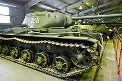 Sovjetisk tung behållare KV-85 (objekt 239) Arkivfoton