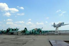 Sovjetiska militära flygplan Royaltyfria Bilder