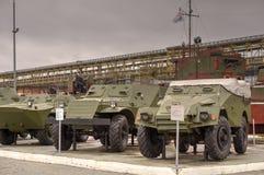 Sovjetiska pansarbilar Arkivfoton