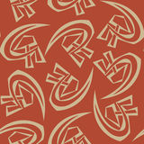 Sovjetiska symboler Royaltyfria Foton