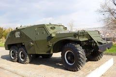 Sovjetiskt medel BTR-152 Arkivbild