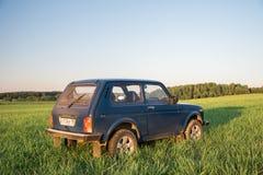 Sovjetiskt och ryss SUV Lada Niva Royaltyfri Bild