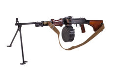 Sovjetlegermachinegeweer rpd-44 royalty-vrije stock afbeeldingen