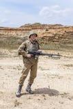Sovjetvalschermjager in Afghanistan royalty-vrije stock foto