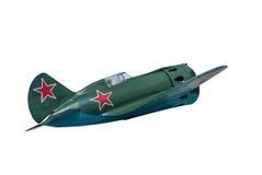 Sovjetvechtersvliegtuigen I-16 Stock Fotografie