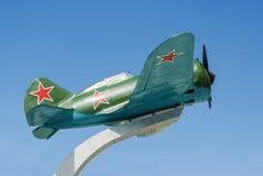 Sovjetvechtersvliegtuigen I-16 Stock Afbeeldingen