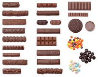Sovraccarico del cioccolato fotografia stock libera da diritti