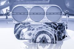 Sovralimentazione HDR del veicolo Immagine Stock Libera da Diritti