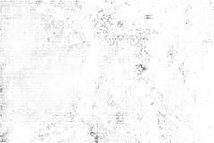 Sovrapposizione di semitono nera sottile di struttura di vettore Fondo bianco schizzato astratto monocromatico Granuloso in bianc illustrazione di stock