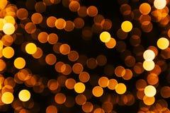 Sovrapposizione festiva delle luci Immagine Stock Libera da Diritti