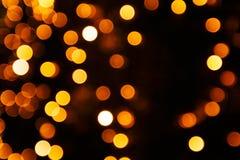 Sovrapposizione festiva delle luci Immagini Stock Libere da Diritti