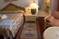 Sovrum för lyxigt hotell arkivfilmer