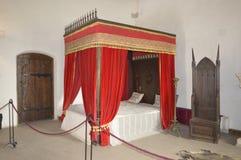 Sovrum i slotten Fotografering för Bildbyråer