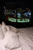 sovrum Las Vegas Fotografering för Bildbyråer