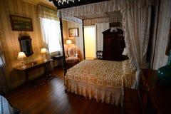 Sovrum på det Hillwood godset, museet och trädgårdar Royaltyfri Bild