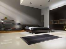 sovrum som är inre till Royaltyfria Bilder