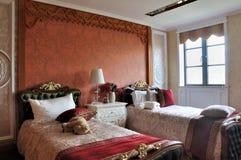 sovrummet lurar lyxig stil Royaltyfri Bild