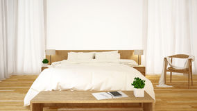 Sovrumrengöringdesign - tolkning 3d Royaltyfria Bilder