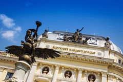 Słowacki teatr narodowy, Bratislava, Sistani Zdjęcia Stock