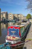 Sowerby Bridge Marina, Calderdale Stock Images