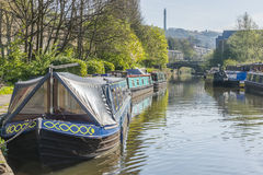 Sowerby Bridge Marina, Calderdale Stock Photography