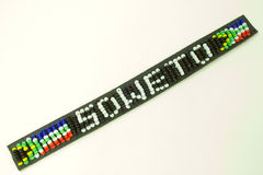 Soweto bead work Stock Photos