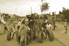 Soweto dzieciaki w Południowa Afryka Fotografia Royalty Free