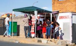 Soweto Takeaway food royalty free stock image