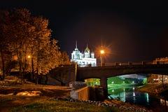 Sowieci Troitskiy most Zdjęcia Royalty Free