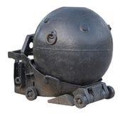 Sowieci WW-2 morska kopalnia na bielu Zdjęcia Royalty Free