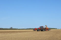Sowing crops Stock Photos