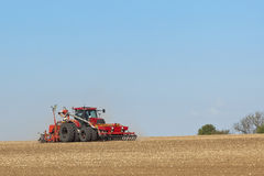 Sowing crops 2 Royalty Free Stock Photography