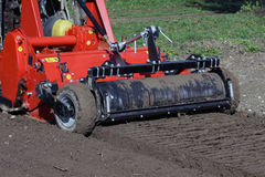Sowing soil preparation machines Stock Photos