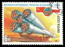 Sowjet-Politur-Raum-Flug lizenzfreies stockfoto
