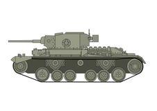 Sowjetbehälter des Zweiten Weltkrieges Stockfoto