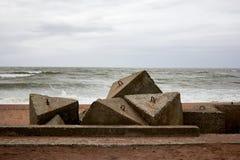Sowjetische Armee in der Ostsee in Liepaja Stockfotografie