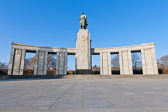 The Sowjetische Ehrenmal at Berlin, Germany Royalty Free Stock Photos