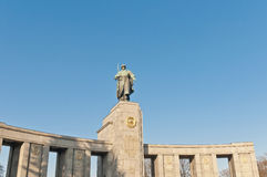 The Sowjetische Ehrenmal at Berlin, Germany Stock Photo
