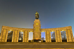 The Sowjetische Ehrenmal at Berlin, Germany Royalty Free Stock Photography