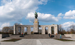 The Sowjetische Ehrenmal (Soviet Memorial) Royalty Free Stock Image