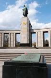 The Sowjetische Ehrenmal (Soviet Memorial) Royalty Free Stock Photography