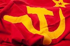 Sowjetische Markierungsfahne Lizenzfreies Stockfoto