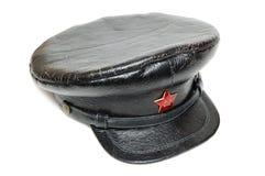 Sowjetische Militärschutzkappe Lizenzfreies Stockbild