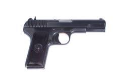 Sowjetische Pistole TT (Tula, Tokarev) Lizenzfreies Stockfoto