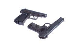 Sowjetische Pistole TT und PMM Stockfotos